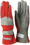 1-LYR SFI-1 GLOVE LRG RED