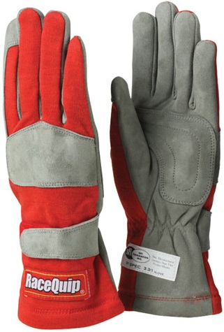 1-LYR SFI-1 GLOVE XLG  RED