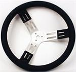 17^  DISH ALUMINUM STEERING WHEEL