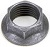 5/16^-24 F. SELF LOCKING HEX NUT - EACH-