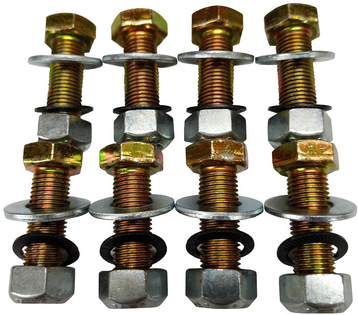 8 RIB TUBE to BELL BOLT KIT