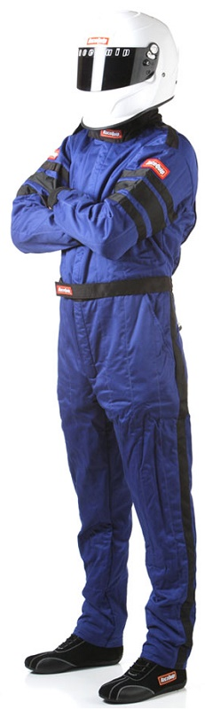 BLUE MEDIUM SFI-5 MULTI LAYER SUIT