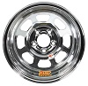 Chrome Wheel  15 x 8 in, 4^ Backspace, 5 x 4.75