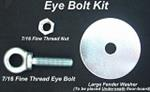 EYEBOLT KIT INCLUDES EYEBOLT, NUT ,WASHER