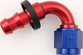 FITTING -10 AN 120 Degree Push Lock HOSE END