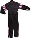 SFI-1 JR SUIT PINK TRIM YOUTH X-LG