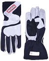 SFI-5 GRAY/BLK MED OUTSEAM W/CLOSURE GLOVES
