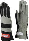 SINGLE LAYER SFI-1 GLOVE MEDIUM BLACK