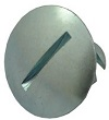 STEEL PANEL FASTENER LONG LARGE HEAD